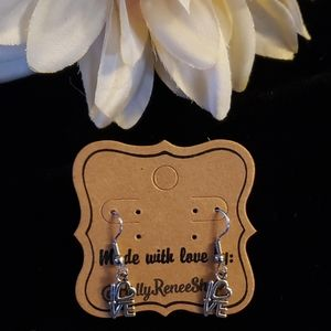 Little LOVE dangle earrings